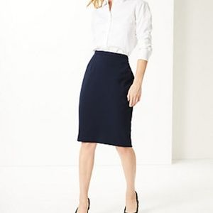 Marks And Spencer Stretch Pencil Skirt